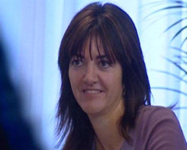Idoia Mendia, portavoz del Gobierno vasco