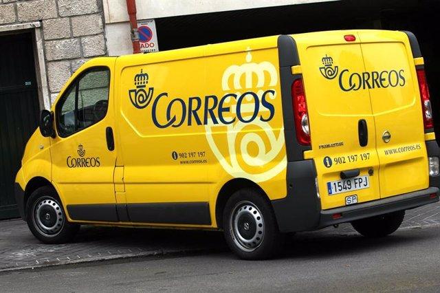 Furgoneta de Correos.