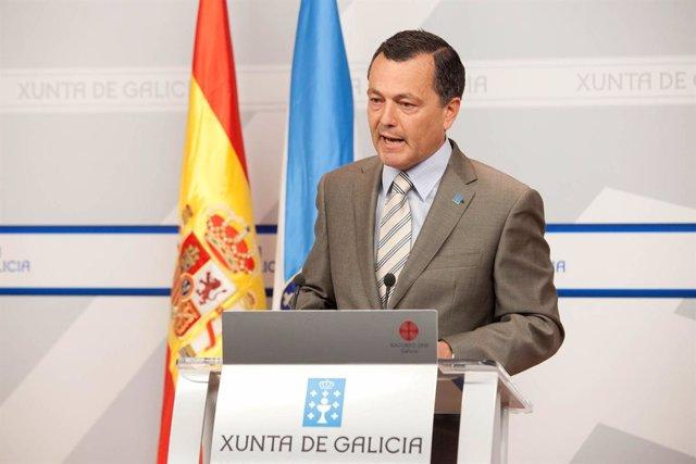 Agustín Hernández, conselleiro de Medio Ambiente, Territorio e Infraestruturas