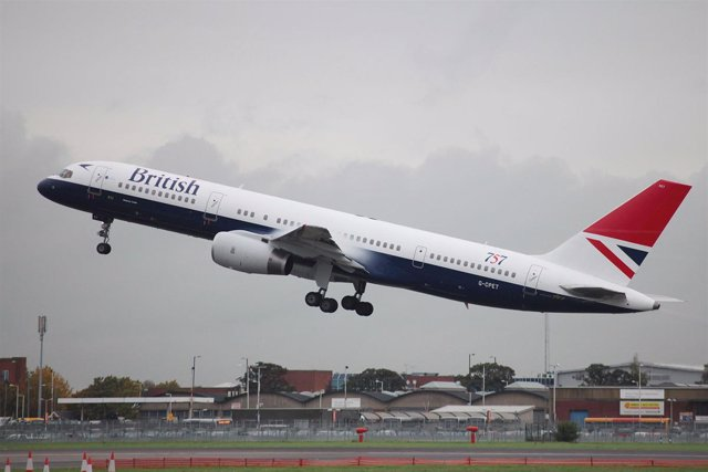 Avión de British Airways