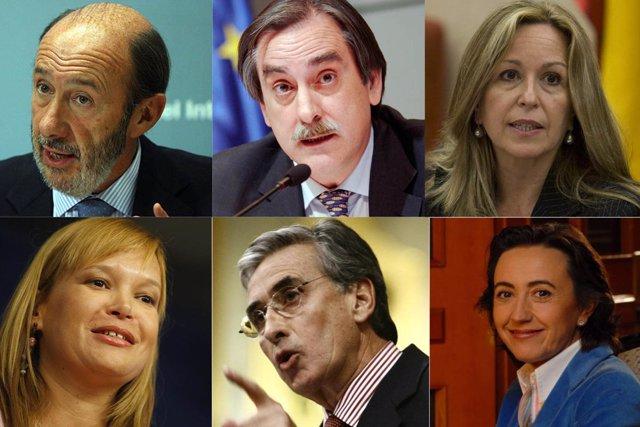 Nuevas caras del Gobierno de Zapatero