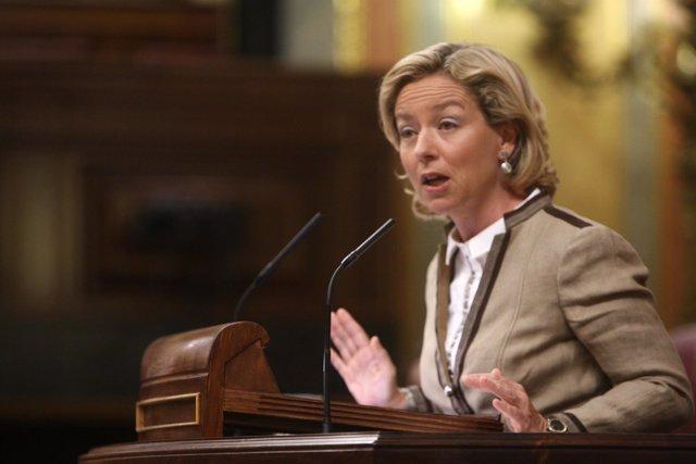 Ana María Oramas, en el Congreso