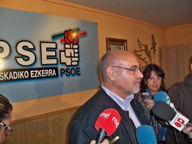 José Antonio Pastor, portavoz del PSE-EE.
