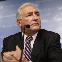 Director gerente del FMI, Dominique Strauss Khan