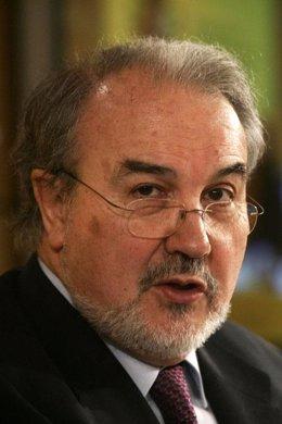 Pedro Solbes, primer plano