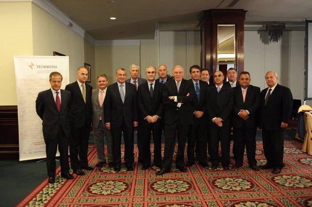Los presidentes de las principales empresas de Tecniberia