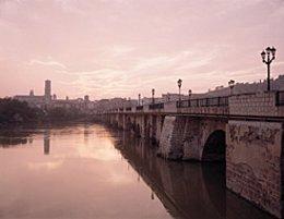 Puente medieval de Tudela.
