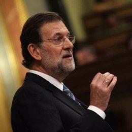 Mariano Rajoy en el Debate sobre el Estado de la Nación