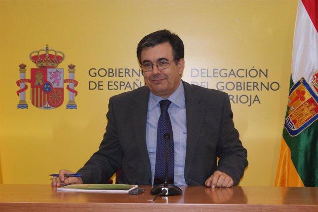 El delegado del Gobierno, José Antonio Ulecia