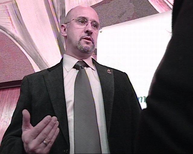 El vicepresidente de la AVT, José Marco