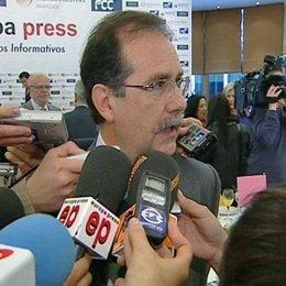El presidente del Tribunal Superior de Justicia de Madrid (TSJM), Francisco Javi