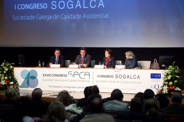 SANTIAGO11,00 h.-O titular da Xunta, Alberto Núñez Feijóo, presidirá o acto inau