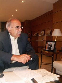El delegado del Gobierno, Ricardo Peralta.