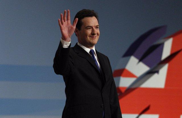 Ministro británico de Economía, George Osborne