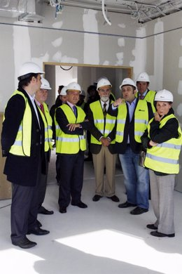 agustin hernandez visita obras auditorio ferrol