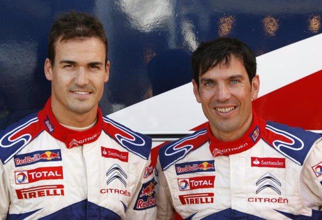 Dani Sordo y Diego Vallejo