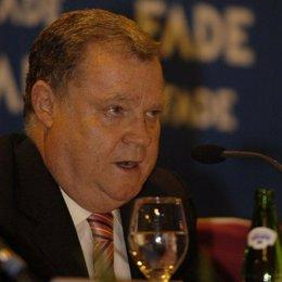 El presidente de la Federación Asturiana de Empresarios (FADE), Severino García