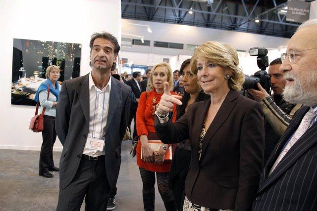 Aguirre inaugura la Feria Estampa