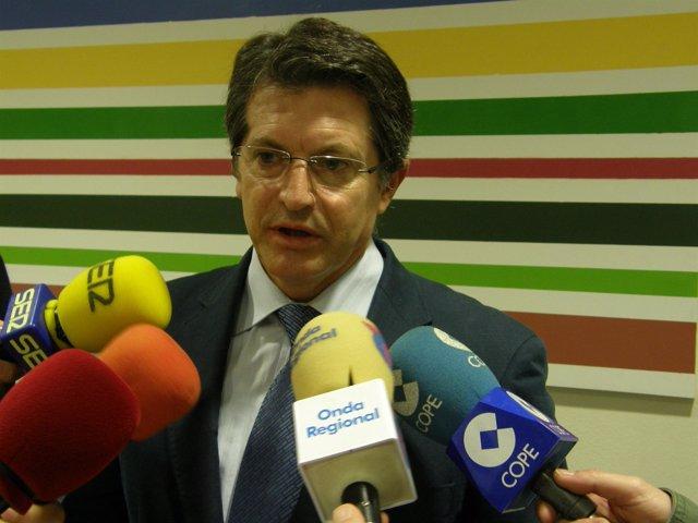 El alcalde de Lorca, Francisco Jódar