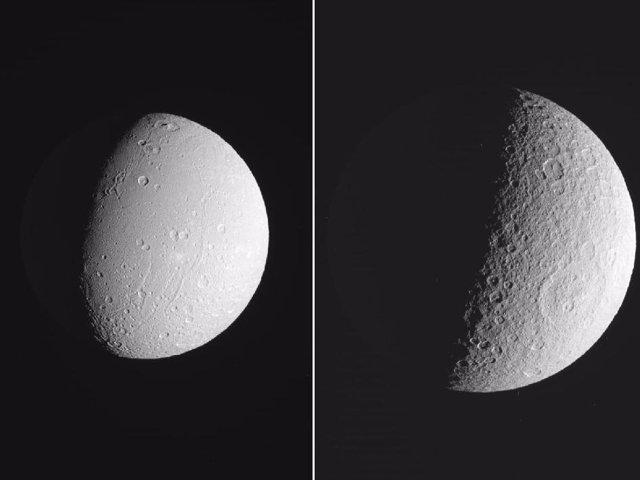 Dione y Rhea