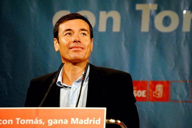 Tomás Gómez en un acto