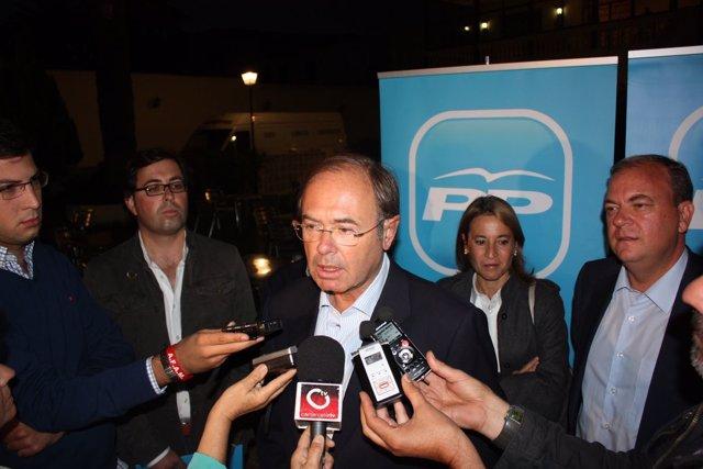 20 Octubre Fotos Rueda De Prensa PP Extremadura En Trujillo