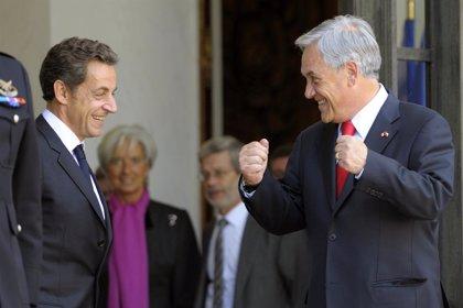 """Piñera anuncia una """"alianza estratégica"""" con Francia"""