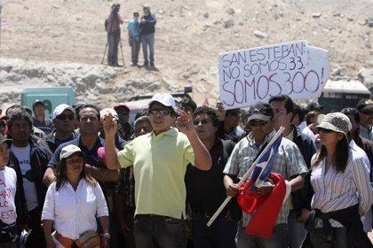 Los mineros denunciarán a la empresa propietaria de San José y al Gobierno