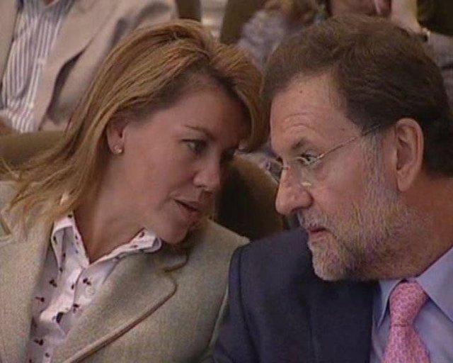 Rajoy y Cospedal