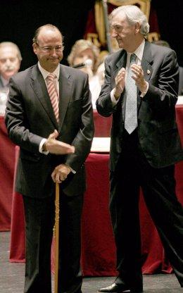 Luis Rogelio (PP) y Juan Megino (GIAL)