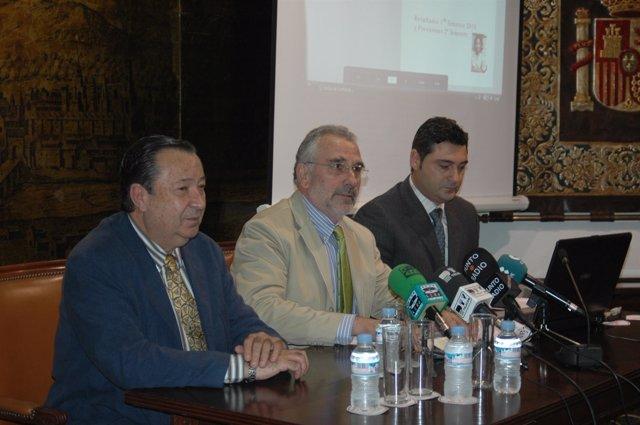 Rueda de prensa del presidente de la Cámara de Comercio de Córdoba, Ignacio Fern