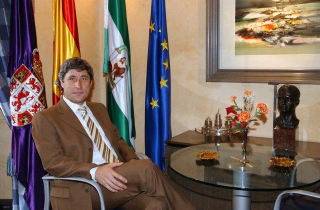 El presidente de la Diputación de Córdoba, Francisco Pulido
