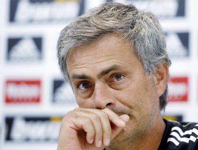 Jose Mourinho, entrenador del Real Madrid