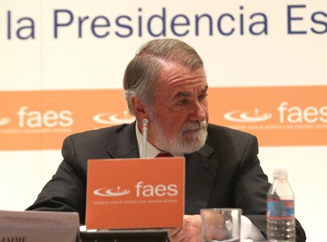 ex ministro y vicepresidente del grupo Popular europeo, Jaime Mayor oreja