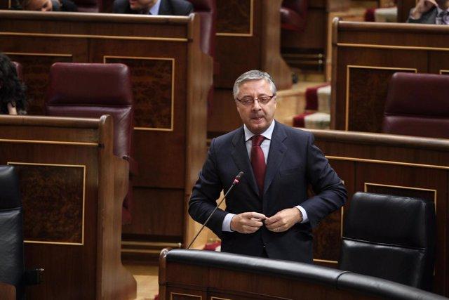 Ministro de Fomento, José Blanco, en el Congreso