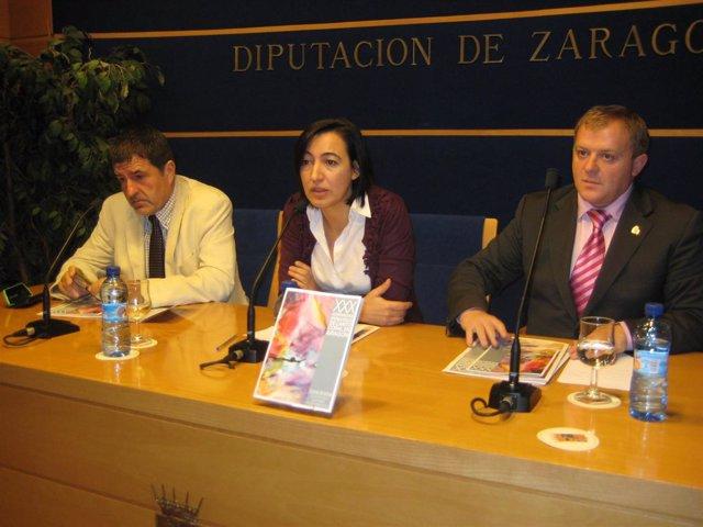 Presentación de las Jornadas coralistas de Borja en la DPZ