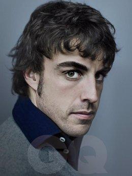 Fernando Alonso, protagonista de GQ noviembre