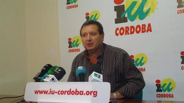 El coordinador de IU en Córdoba, Francisco Martínez