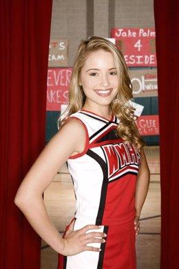 Dianna Agron, una de las protagonistas de la serie 'Glee'