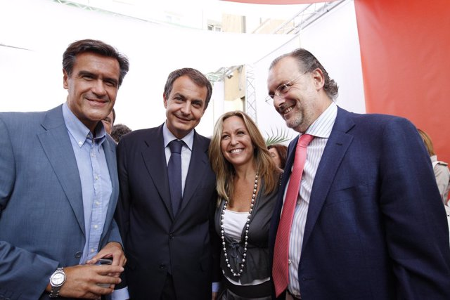 Juan Fernando López Aguilar, José Luis Rodríguez Zapatero, Trinidad Jiménez