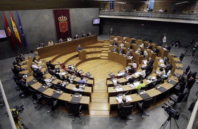 Plenos del Parlamento Navarro