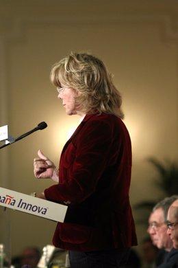 Ex ministra de Educación y eurodiputada del PP Pilar del Castillo