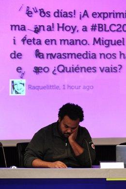 El productor musical Carlos Jean