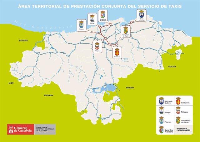 Mapa taxi