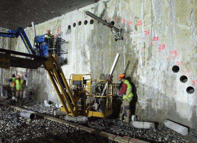 Los trabajos del túnel del metro bajo la ronda oeste han comenzado