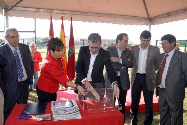 Granados ha visitado el polideportivo de Alpedrete