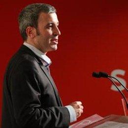 El director de campaña del PSC, Jaume Collboni