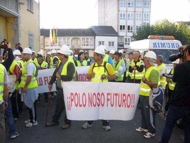 protestas carbón Galicia