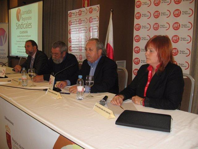 Cándido Méndez se dirige a los delegados sindicales