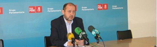 El portavoz del PSOE en la comisión de la CRTVG, Ricardo Varela